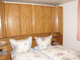 Das Schlafzimmer im Untergeschoss